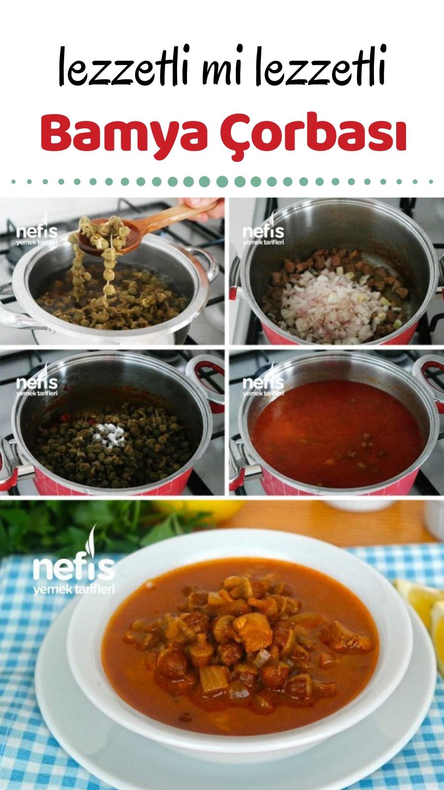 Bamya Çorbası Tarifi Videosu