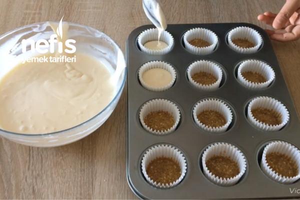 Çikolatalı Balkabaklı Minik Cheesecake Ler ( Videolu )