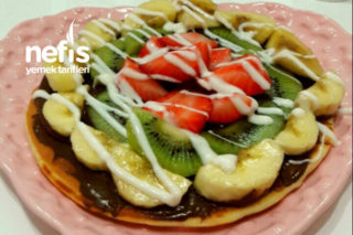 Çok Pratik Tavada Waffle Tarifi