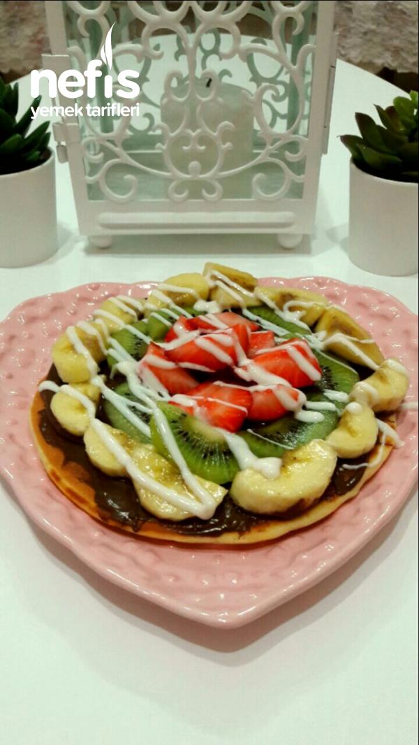 Çok Pratik Tavada Waffle