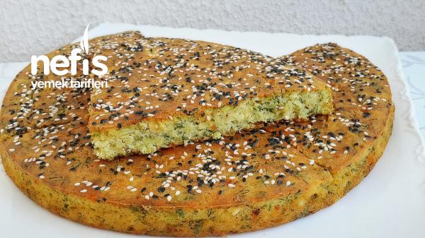 Fırında Peynirli Mısır Unlu Pırasa