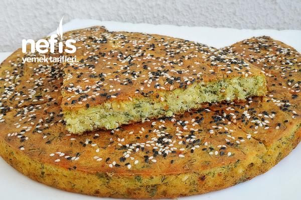 Fırında Peynirli Mısır Unlu Pırasa Tarifi