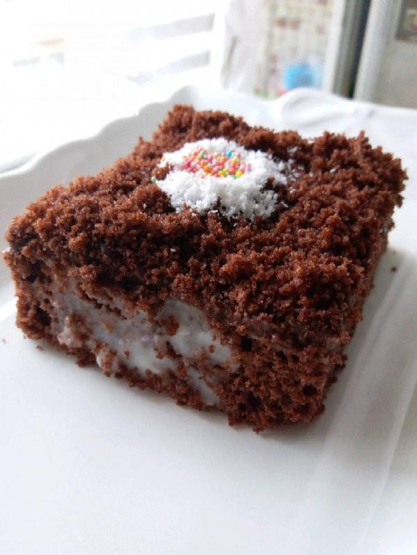 Puding Dolgulu Kek