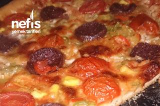 2 Tepsi Pizza Tarifi