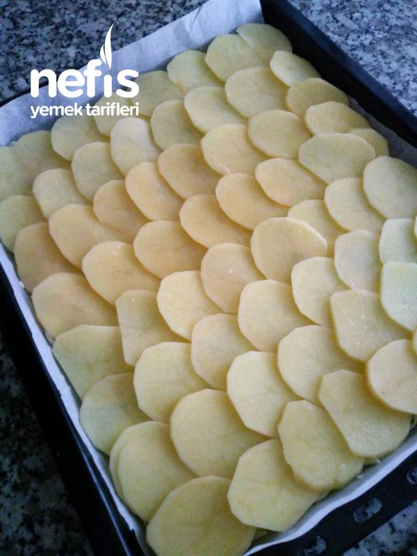 Patates Tabanlı Kıymalı Rulo
