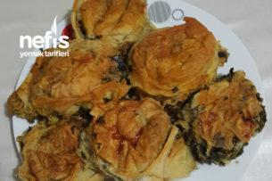 Pratik Ispanaklı Pırasalı Börek Tarifi