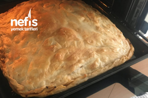 Teremyağlı Arnavut Böreği (Kıymalı Soğanlı) Tarifi
