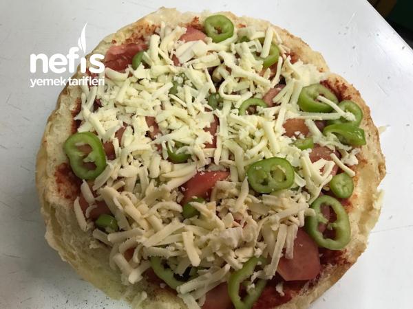 Bazlama Tost(pizza Tadında)