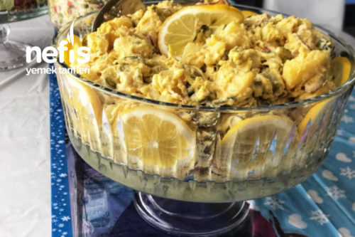Körili Hardal Soslu Patates Salatası Tarifi