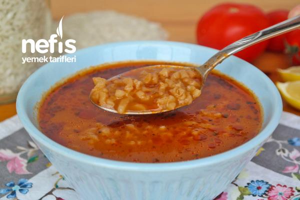 Pirinç Çorbası (videolu) Tarifi