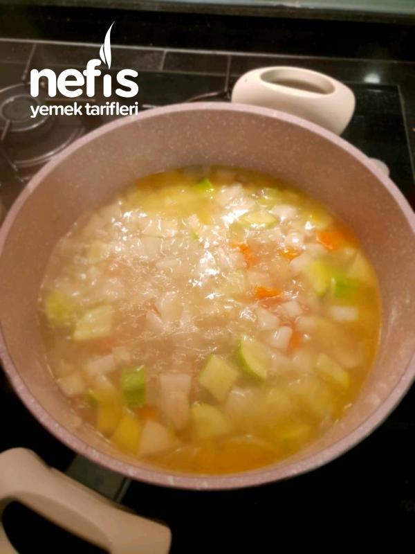 Sütlü Kereviz Çorbası (kokusuz)