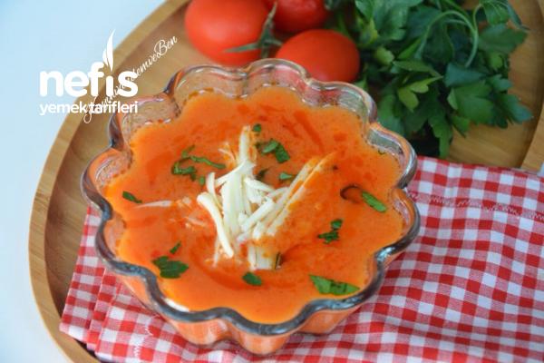 Teremyağlı Sütlü Domates Çorbası