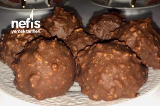 Ferrero Rocher (Enfes Fındıklı Çikolata Topları) Tarifi