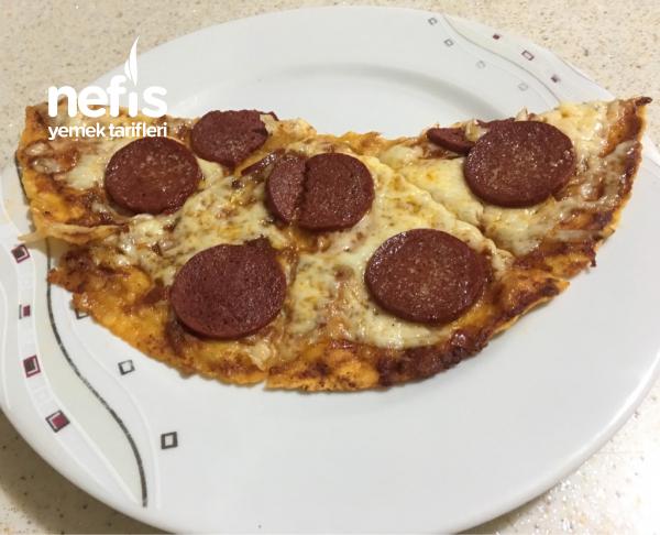 Sucuklu Lavaş Pizza