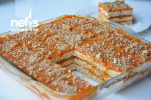 Teremyağlı Balkabaklı Pasta Tarifi