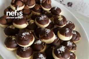 Teremyağlı Nişastalı Çikolatalı Kurabiye Tarifi