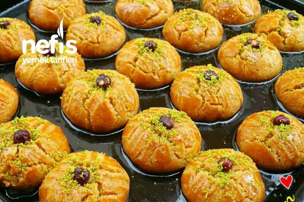 Teremyağlı Pastane Usulü Şekerpare Tarifi