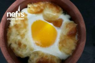 Güveçte Yumurtalı Ispanak Tarifi