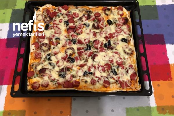 Hazır Yufkadan Pizza Tarifi