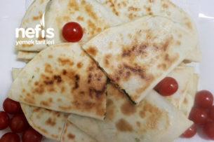 Teremyağlı Ispanaklı Peynirli Gözleme Tarifi