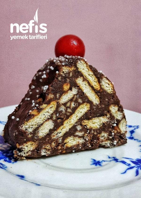 Teremyağlı Lokum Piramit Pasta