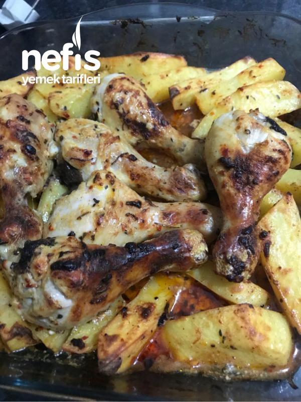 Fırında Patatesle Baget