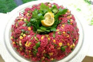 Teremyağlı Şalgamlı Bulgur Salatası Tarifi