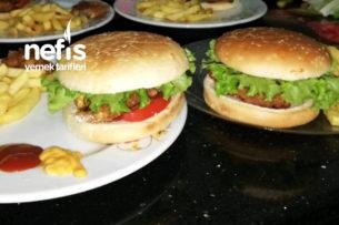 Evde Tavuk Hamburger Tarifi