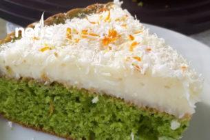 Ispanaklı Kremalı Tart Kek (Şipşak Ve Nefis) Tarifi
