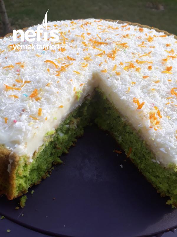 Ispanaklı Kremalı Tart Kek (Şipşak Ve Nefis)