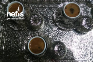 Köpük Köpük Türk Kahvesi Tarifi
