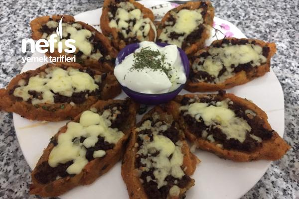 Patatesli Kıymalı Padişah Pidesi (Kendi Tarifim)