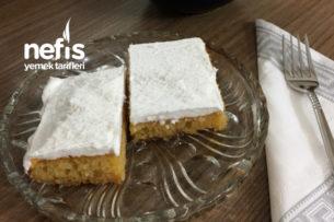 Revani Tatlısı Karamelize Şerbetli ( Ekmek Kadayıfı Tadında ) Tarifi