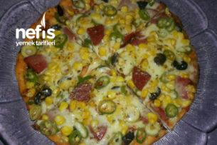 Tencerede Teremyağlı Pizza Tarifi