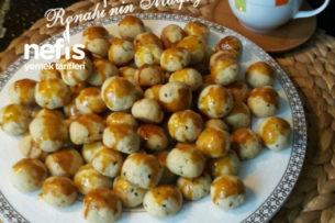 Teremyağlı Çörek Otlu Mini Kurabiye (Bayatlamayan) Tarifi