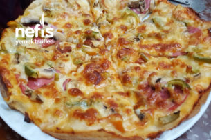 Teremyağlı Pizza Tarifi