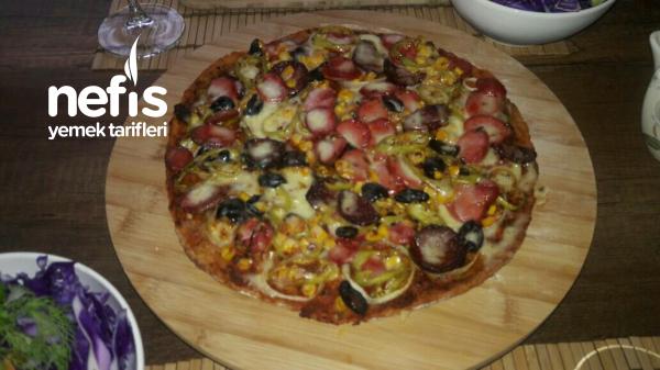 Diyete Uygun Pizza