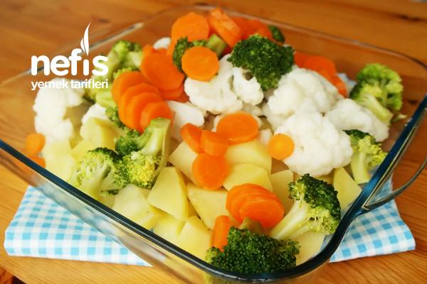 Fırında Brokoli Gratin
