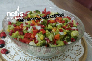 Harika Mevsim Salatası Tarifi