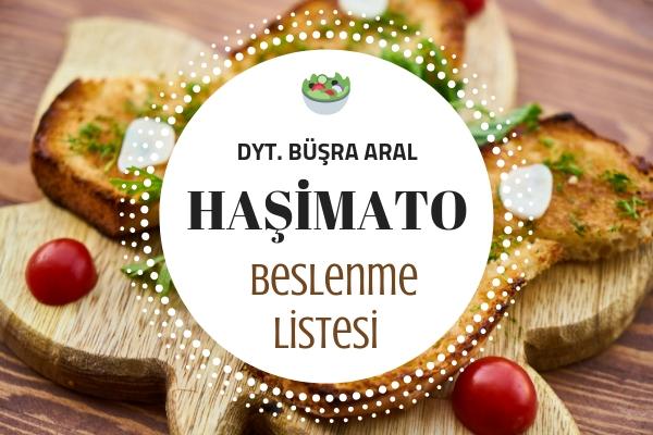 Haşimato Beslenme Listesi, 7 Önemli İpucu – Diyetisyen Kaleminden Tarifi