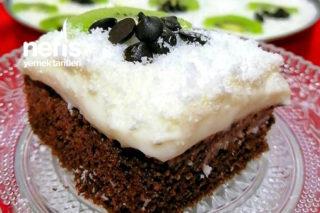 Teremyağlı Kakaolu Kremalı Nefis Kek Tarifi
