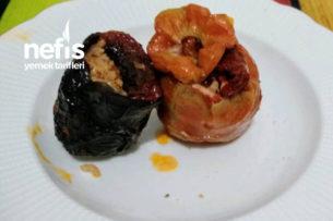 Kuru Patlıcan Ve Domates Dolması Tarifi