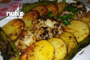 Pratik Nefis Fırında Karnabahar Patates Tarifi