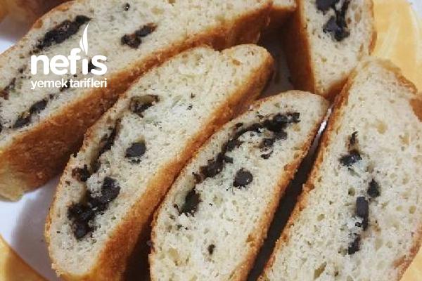 Teremyağlı Zeytinli Ekmek Tarifi