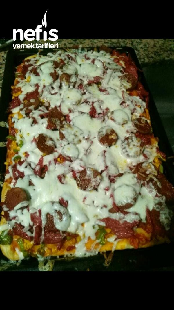 Bayat Ekmek Pizzasi