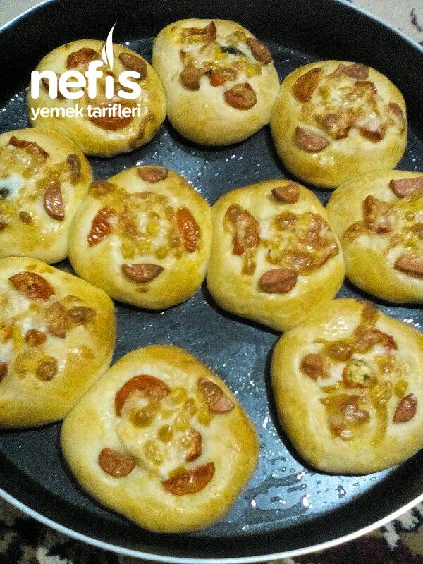 Mini Pizza Poğaça (((tam Tutan Tarif)))