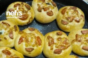 Mini Pizza Poğaça (Tam Tutan Tarif) Tarifi