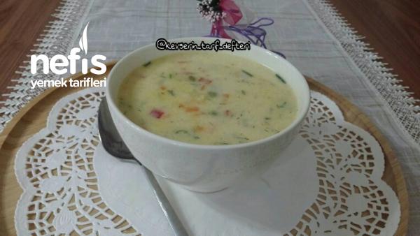 Terbiyeli Nefis Sebze Çorbası