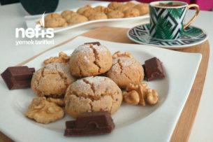 Çikolatalı Tahinli Kıyır Kurabiye Tarifi