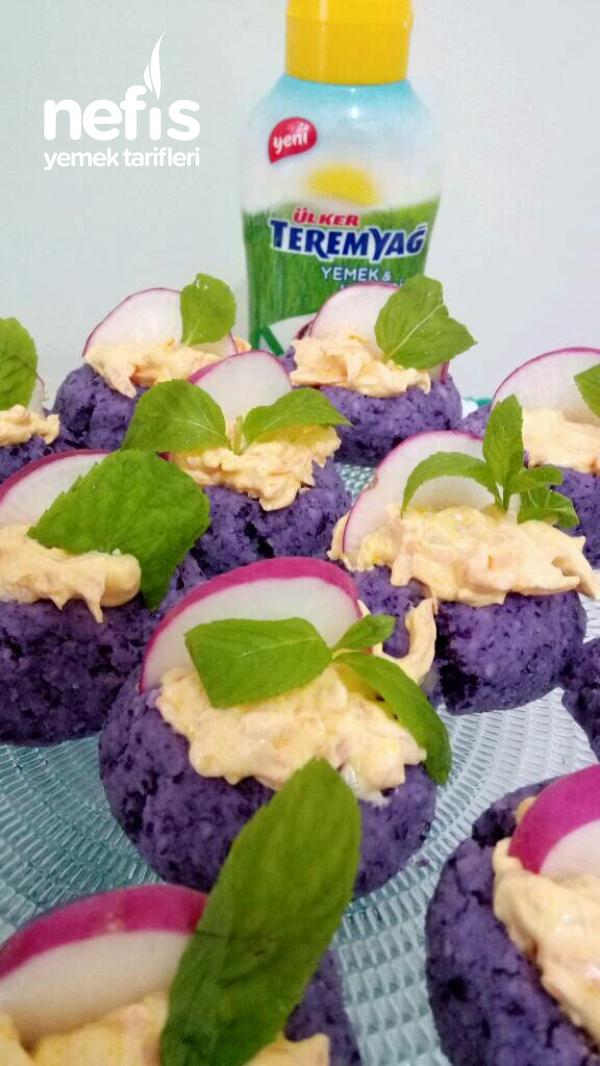 Teremyağ Lı Lahana Pare Salatası